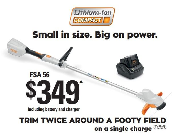 STIHL FSA 56 Cordless Grass Trimmer