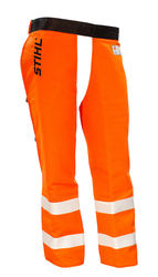 Government & Utility Protective Chaps - Hi Vis