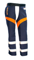 Government & Utility Protective Chaps - Navy Blue