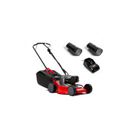 Rover CORE Duracut 1010 Bundle (Push Mower, Battery & Batteru Charger)